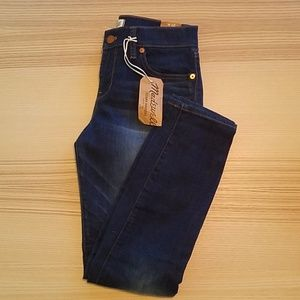 NWT Madewell skinny skinny crop jeans size 26